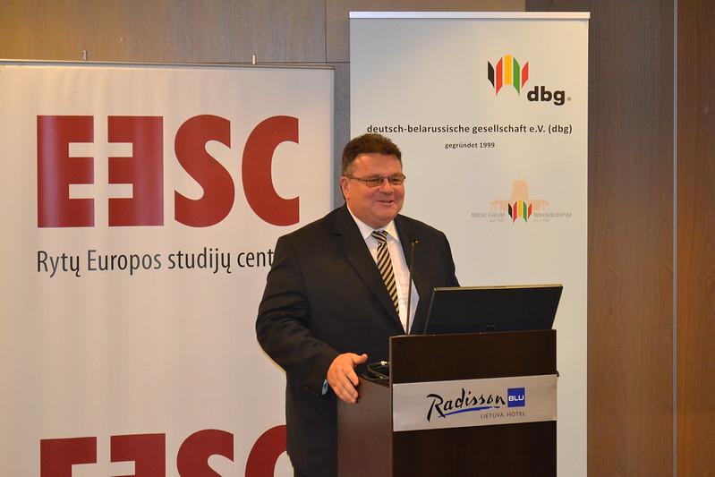 """Tarptautinė konferencija """"Ateities strategijos Baltarusijos politikai"""""""
