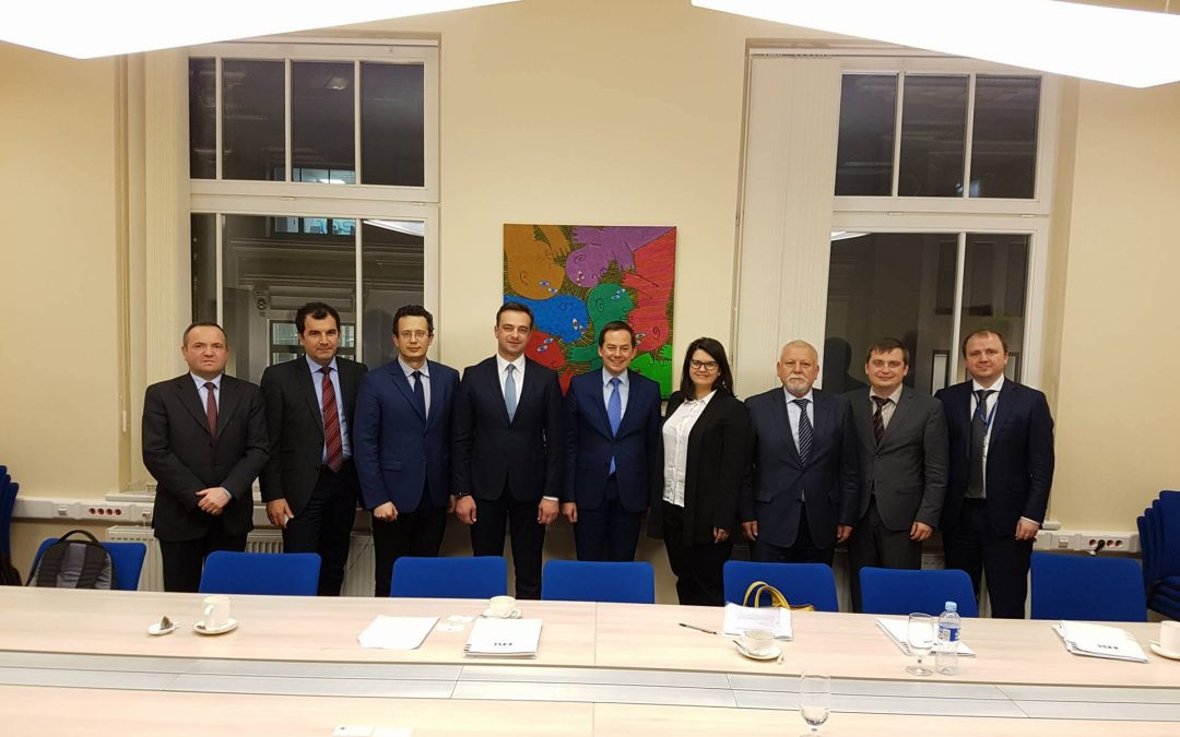 Lietuvoje žinių sėmėsi Gruzijos, Moldovos ir Ukrainos parlamentarai