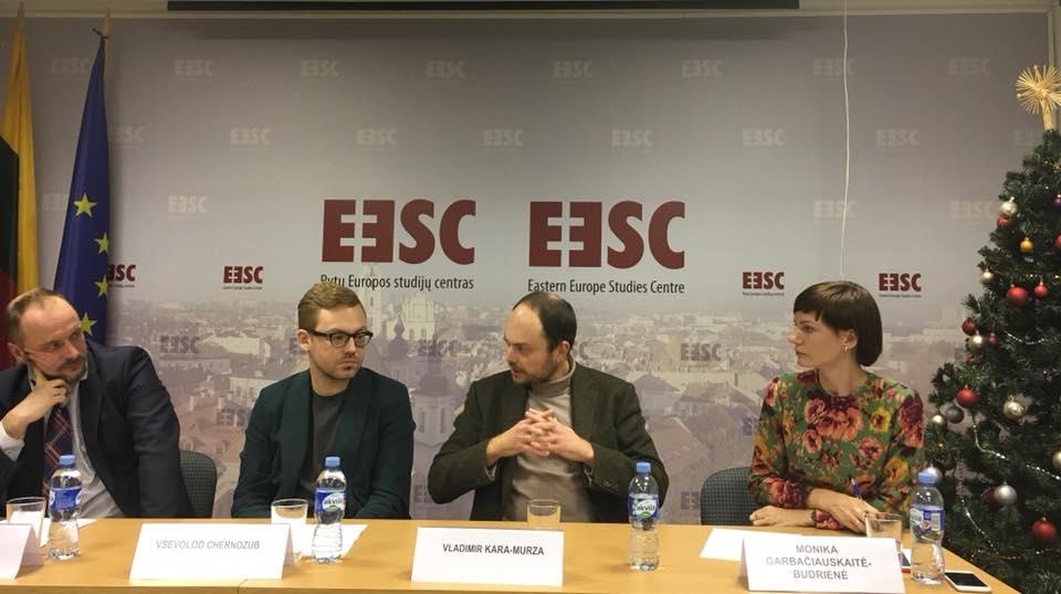 """Diskusija """"Rusija ir jos pilietinė visuomenė: iššūkiai ir ateities perspektyvos"""""""
