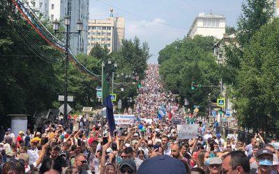 """RESC analitinė apžvalga """"Pasaulio pulsas"""" – Protestai Chabarovske"""