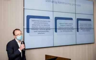 Pristatyta Baltarusijos įvykių raidos scenarijus apžvelgianti analitinė studija