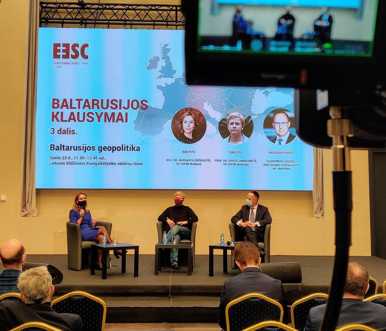 Baltarusijos klausymų santrauka. Geopolitika