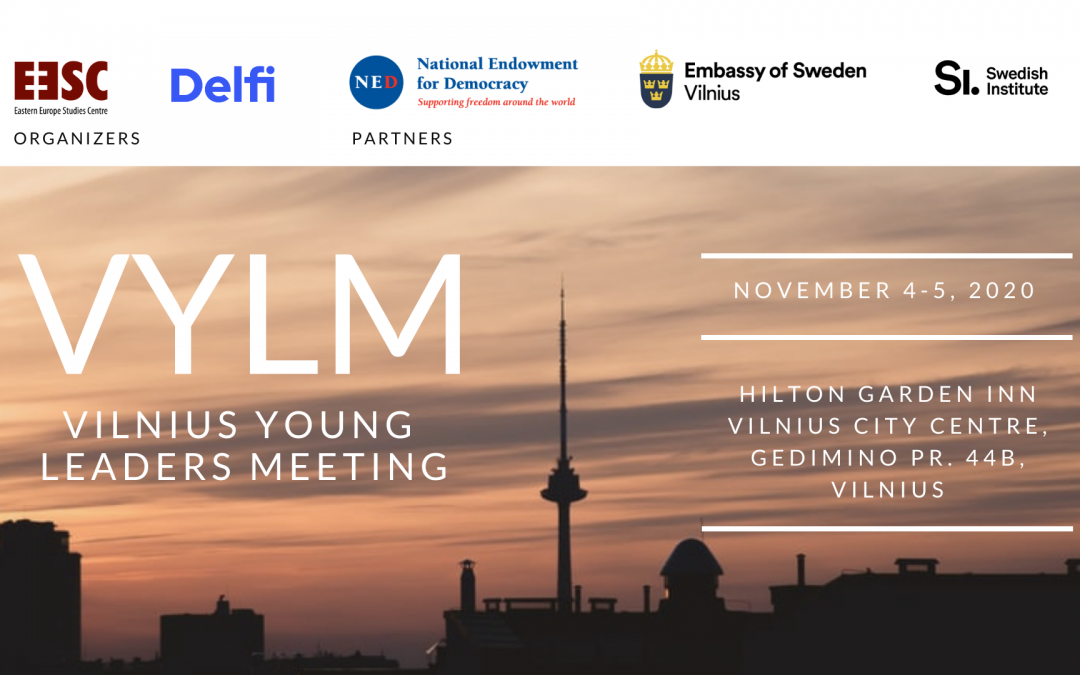 The Vilnius Young Leaders Meeting event is over