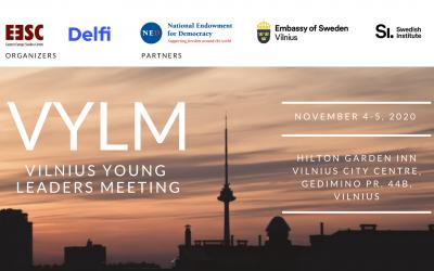 Įvyko Vilnius Young Leaders susitikimas