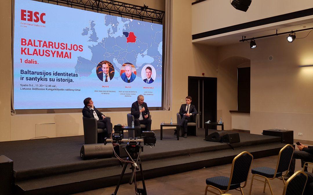 Baltarusijos klausymų santrauka. Istorija ir identitetas