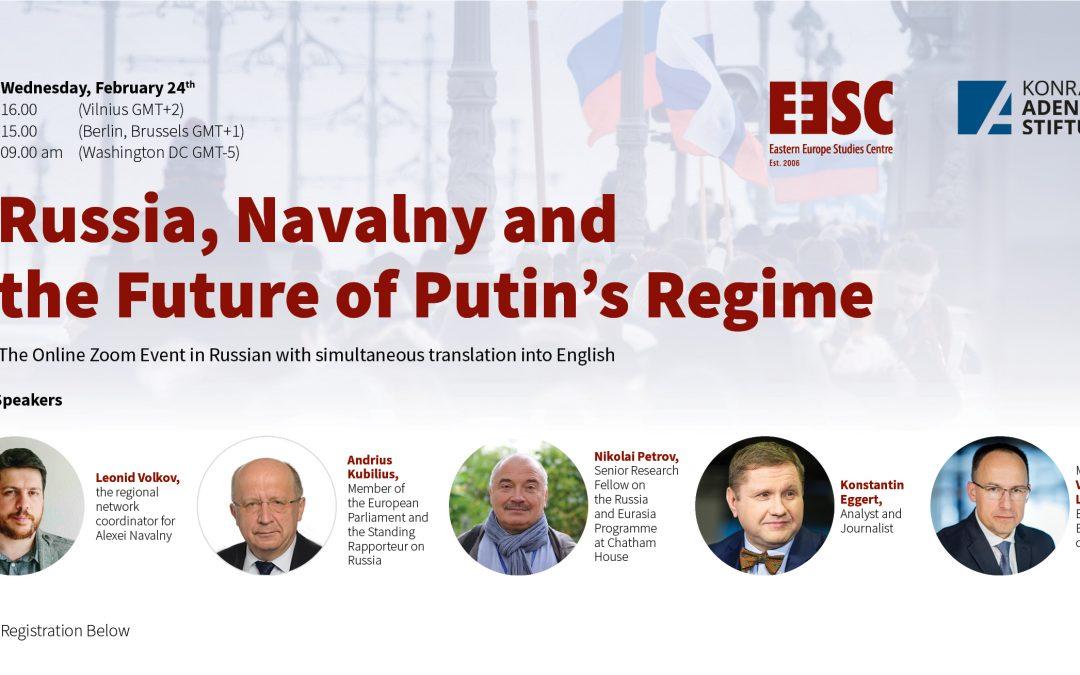 Diskusija – Rusija, Navalnas ir Putino režimo ateitis