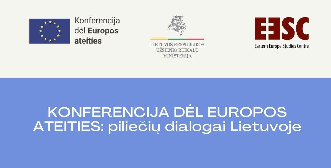 Kviečiame prisidėti prie Konferencijos dėl Europos ateities veiklų