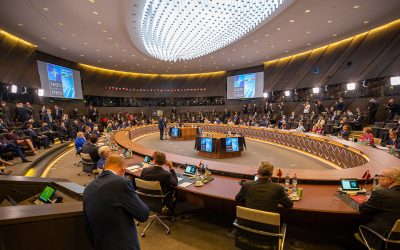 Diskusija apie NATO viršūnių susitikimą Briuselyje