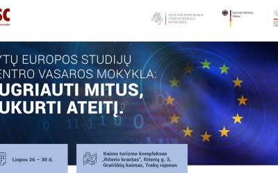 Kvietimas dalyvauti Rytų Europos studijų centro vasaros mokykloje: Sugriauti mitus, sukurti ateitį