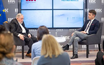 Lietuvos užsienio politikos akiračiai kartu su prof. Vytautu Landsbergiu