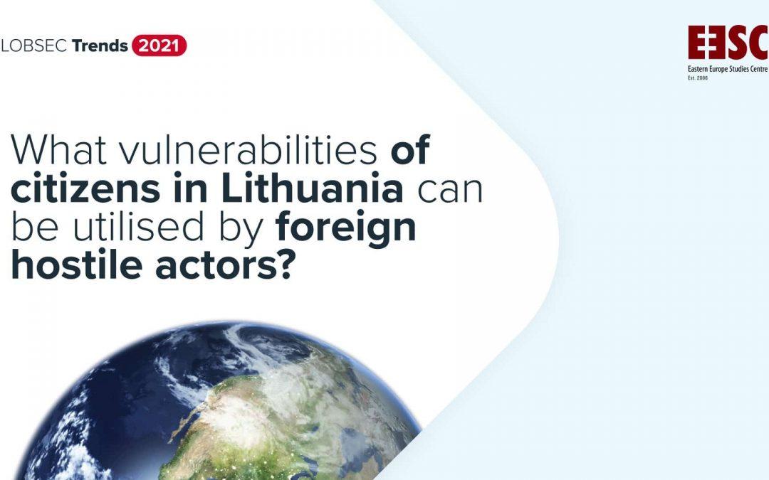 Koks lietuvių požiūris į demokratiją, šalies institucijas, žiniasklaidą ir sąmokslo teorijas? GLOBSEC Trends 2021 Lietuvos rezultatų apžvalga