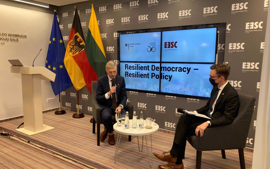 Įvyko Lietuvos-Vokietijos diplomatinių santykių atnaujinimo minėjimo renginys