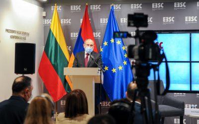 Susitikimas su Armenijos Respublikos Ministru Pirmininku Nikol Pashinyan